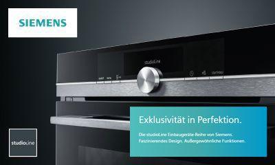 Siemens Kühlschrank Abstand Zur Wand : Siemens die neue studioline reihe im blacksteel design ihr
